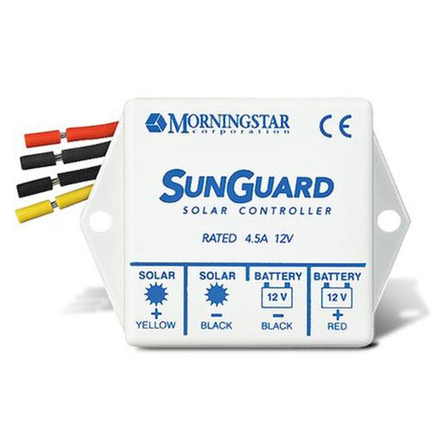 Morningstar, SG-4, PWM Control, Sunguard Charge Control 4.5A 12V - Solar Gear Supply