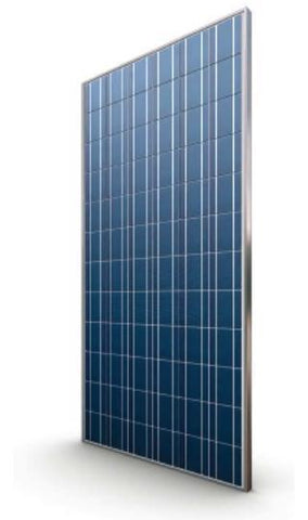 Axitec 270W High Quality 60 Cell Solar Panel, Silver Frame, Poly