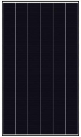 Canadian Solar CS1K-325MS, 325 Watt, Mono-Perc, Black Frame, Solar Panel - Solar Gear Supply