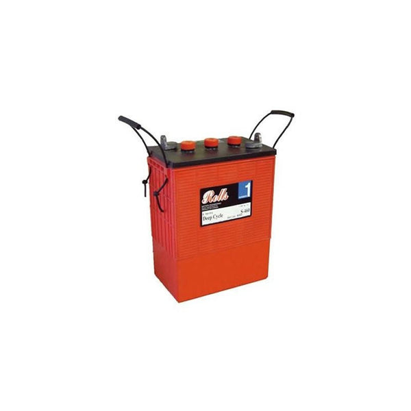 Surrette S-480 486Ah, 6V Deep Cycle Battery - Solar Gear Supply