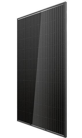 Longi, LR6-60PB-300M, 300W, Mono, Black Frame, Black Back, Solar Panel - Solar Gear Supply