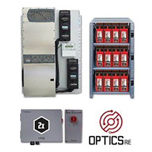Outback SE-830GH, System-Edge-830GH Package with FPR-8048A, IBR-2-48-175, Twelve 200GH, ICS+2 - Solar Gear Supply