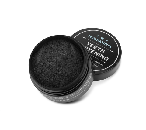 Natural Organic Activated Charcoal Teet Whitening Powder