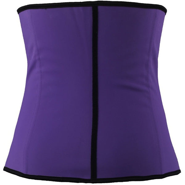Kim Kardashian Steel-Boned Waist Trainer Purple - mydailybeautydeals