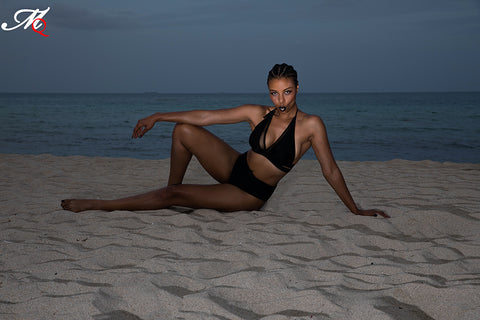 Alexandria Boddie in Miami Beach, by MasterQ Photography