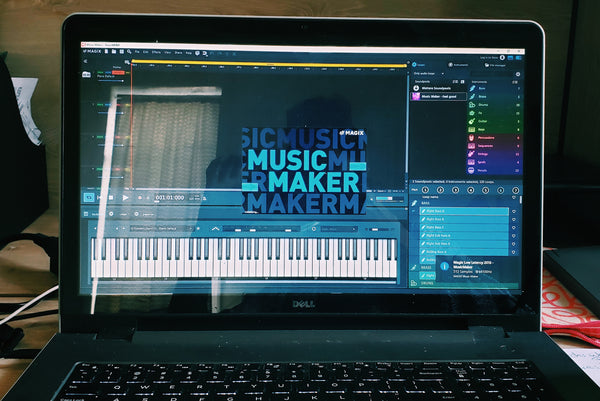 Alexandria Boddie uses Magix Music Maker as her DAW.