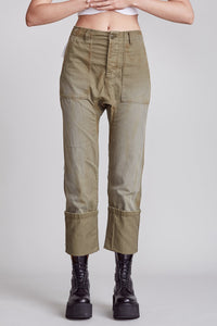 R13 Utility Drop Crotch Pant