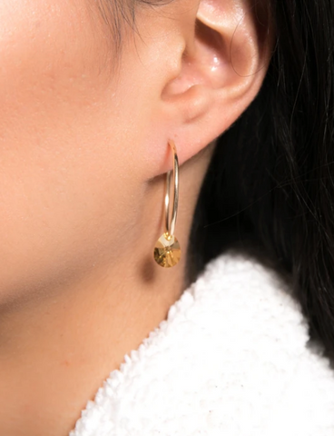 Short & Suite Lil Gem Hoop Earrings