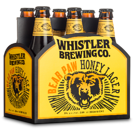 Whistler Honey Lager 6can
