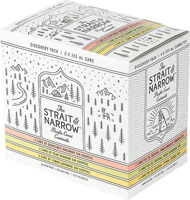 Strait & Narrow Mix Pack 6pk