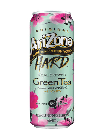 Arizona Hard Green Tea 473ml