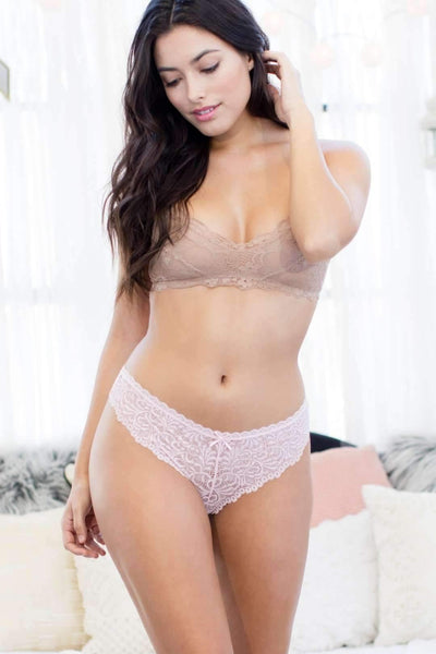 Cat Thong-Honeydew Intimates-Blush-Small-Honeydew Intimates