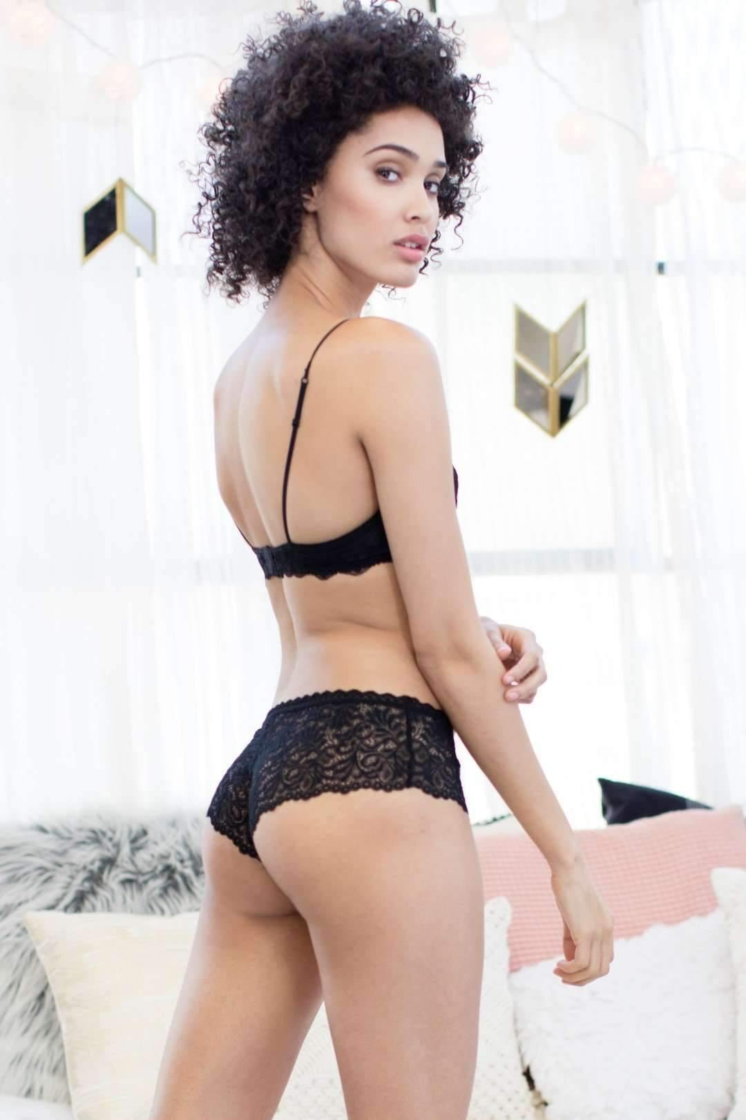 Cat Hipster-Honeydew Intimates-Black-Small-Honeydew Intimates