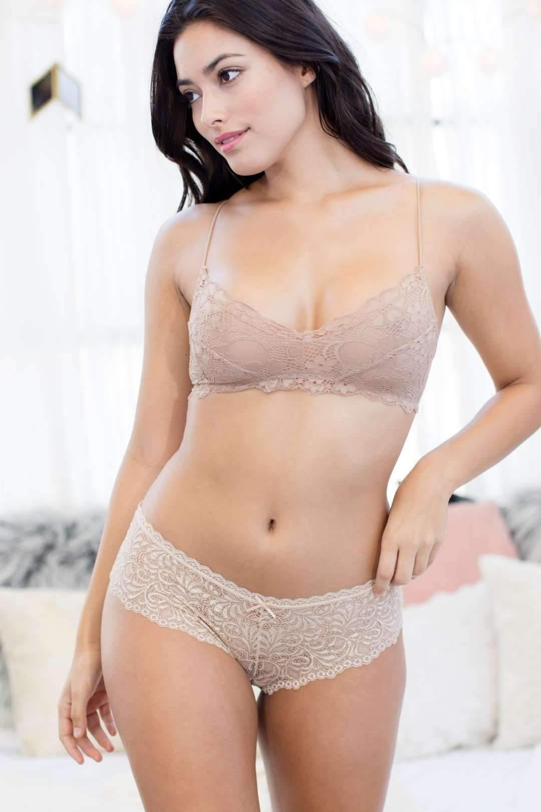 Honeydew Intimates:Cat Hipster,Cream / Small