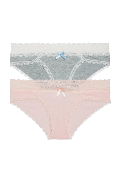 Ahna Hipster 2 Pack - Honeydew Intimates
