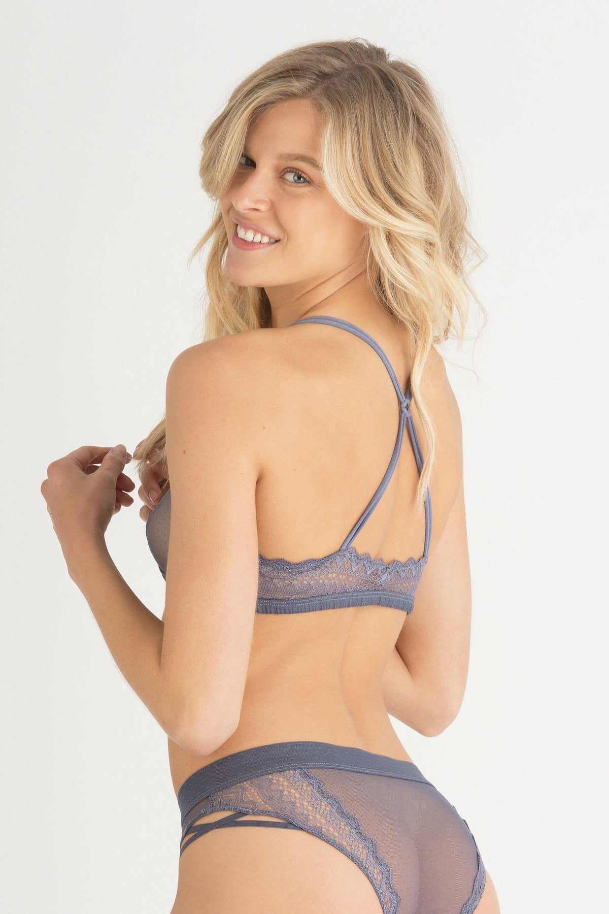 Blake Bralette-Bralettes-Honeydew Intimates-Summit-Small-Honeydew Intimates