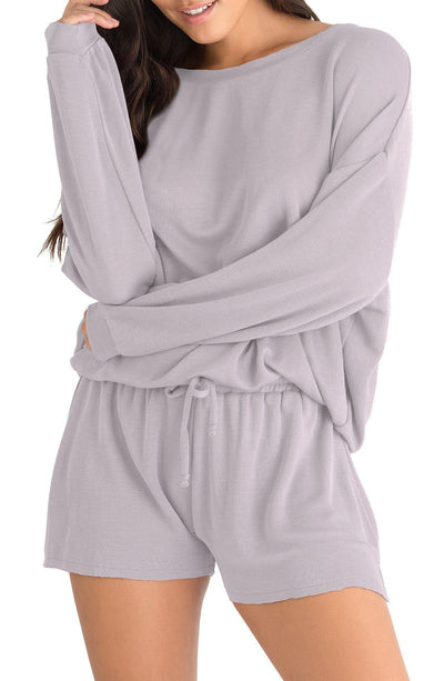 Fall Forever Lounge Sweater-Loungewear-Honeydew Intimates-Orchid Tint-Small-Honeydew Intimates