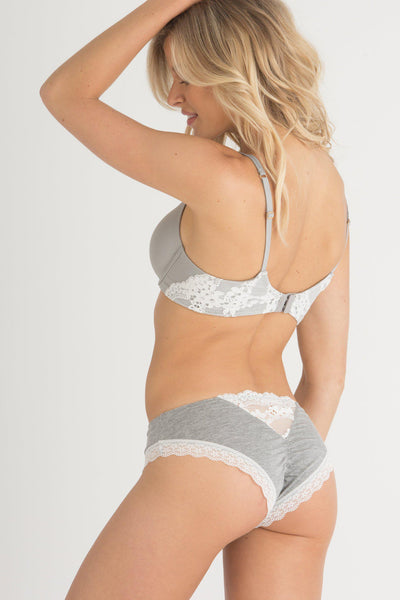 Willow Hipster-Panty-Honeydew Intimates-Heather Grey-Small-Honeydew Intimates