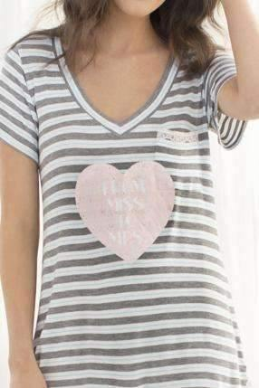 All American Sleepshirt-Sleepshirt-Honeydew Intimates-From Miss to Mrs-Small-Honeydew Intimates