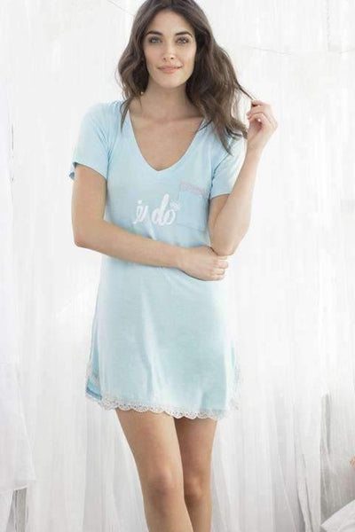 All American Sleepshirt-Sleepshirt-Honeydew Intimates-I Do-Small-Honeydew Intimates