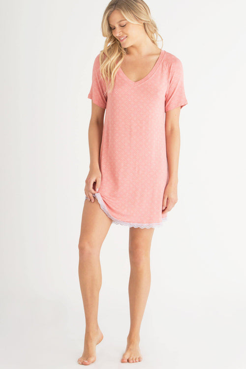 All American Lace Sleepshirt