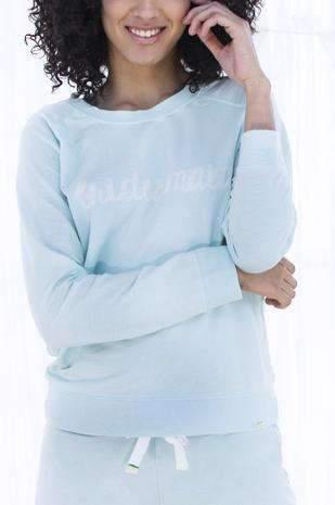 Honeydew Intimates:Undrest Terry Sweatshirt,Something Blue / Extra Small