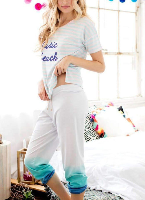 Undrest Jogger-Sleepshirt-Honeydew Intimates-Swoon-2X-Honeydew Intimates