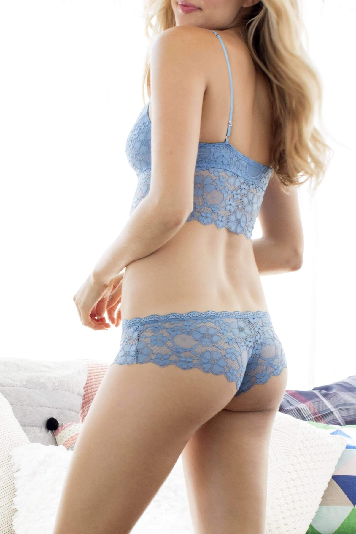 Camellia Lace Hipster-Panty-Honeydew Intimates-Honeydew Intimates