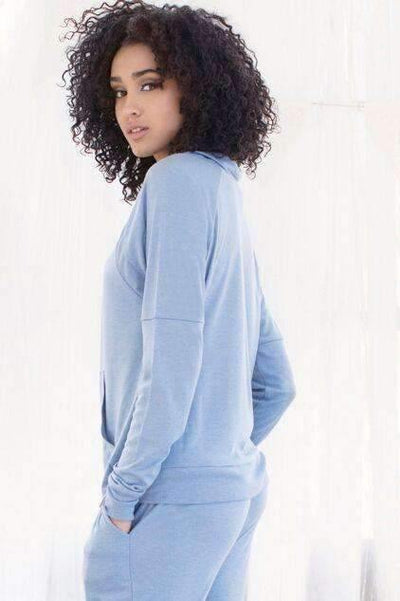 Cozy Cruiser Sweatshirt-Honeydew Intimates