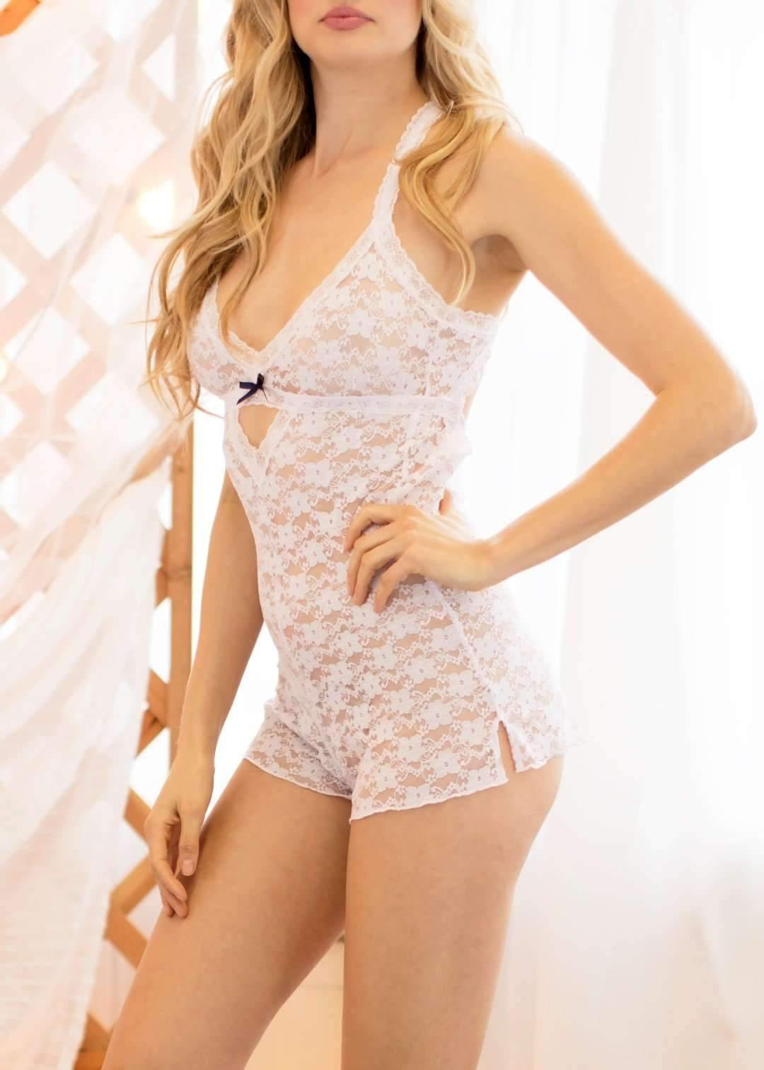 Peek A Dew Mia Teddy-Honeydew Intimates-Ski Bunny-Medium-Honeydew Intimates