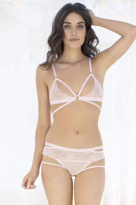 Lucy Lacy Bralette-Bras-Honeydew Intimates-Blush-Small-Honeydew Intimates