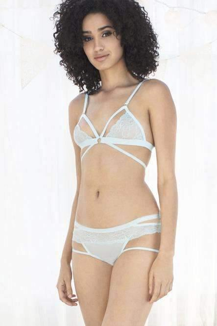 Lucy Lace Hipster-Something Blue-Small-Honeydew Intimates