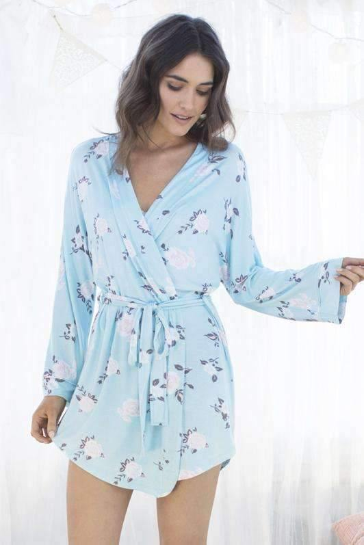 Honeydew Intimates:All American Robe,Blushing Floral / Extra Small