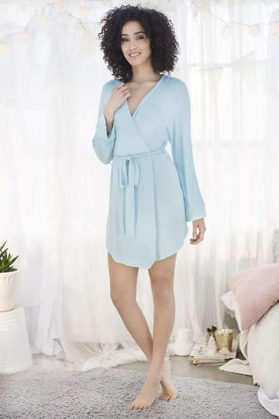 Honeydew Intimates:All American Robe,Something Blue / Extra Small