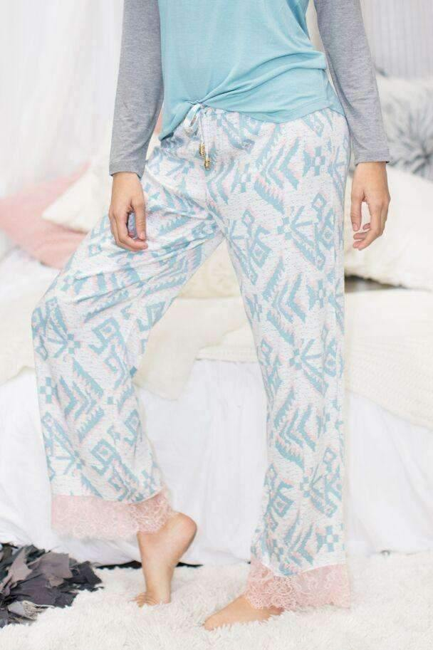 Dream Keeper Pant-Sleepshirt-Honeydew Intimates-Honeydew Intimates