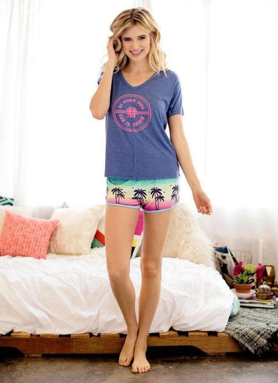 Nomad Tee-Sleepshirt-Honeydew Intimates-Villa-Small-Honeydew Intimates
