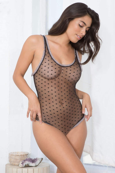 Hazel Bodysuit-Honeydew Intimates-Black-Small-Honeydew Intimates