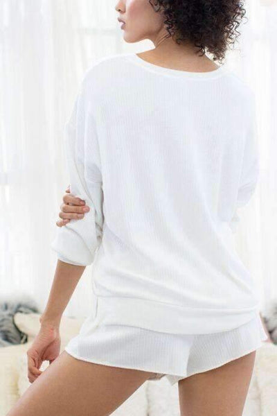 Sleep Queen Sweatshirt-Sleepshirt-Honeydew Intimates-Honeydew Intimates