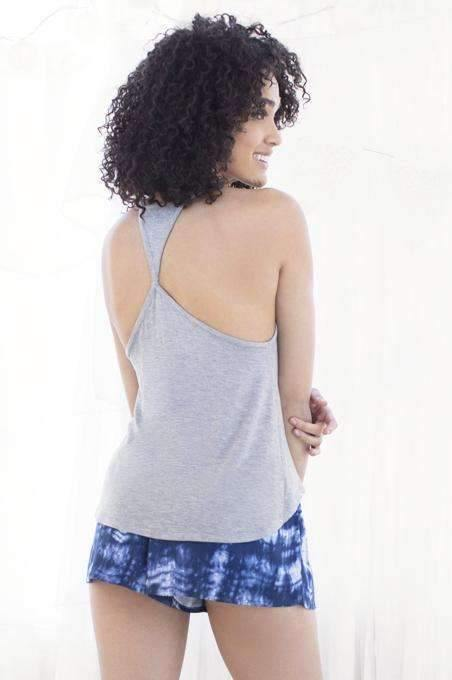 Desert Dreamer Lounge Tank & Short-Sleepshirt-Honeydew Intimates-Honeydew Intimates