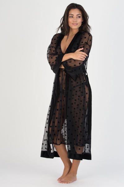 Love Game Robe - Honeydew Intimates