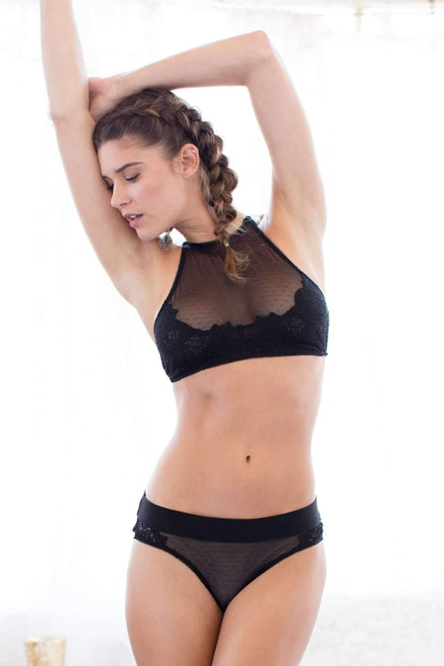 Simone Bralette-Bras-Honeydew Intimates-Black-Small-Honeydew Intimates