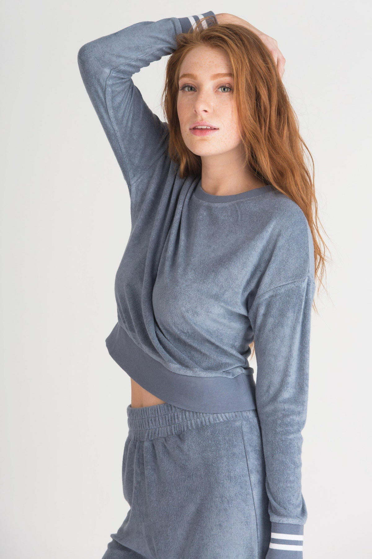 Staycation Sweatshirt-Sleepshirt-Honeydew Intimates-Honeydew Intimates