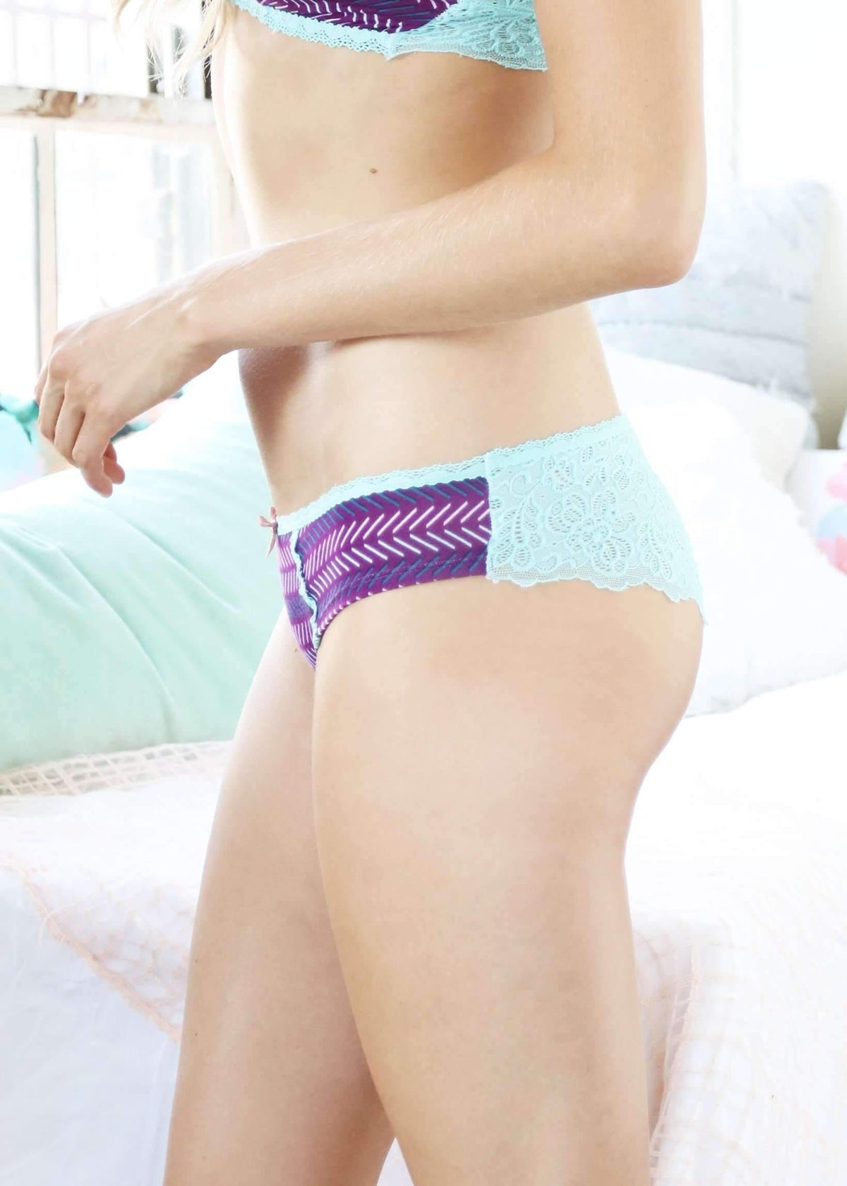 Bri Hipster-Panty-Honeydew Intimates-Beautyberry-Extra Large-Honeydew Intimates