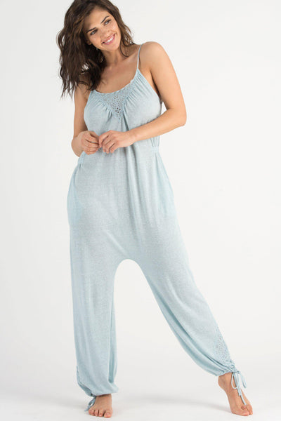 Casual Cutie Jumpsuit-Sleepwear-Honeydew Intimates-Moon Fish-Small-Honeydew Intimates
