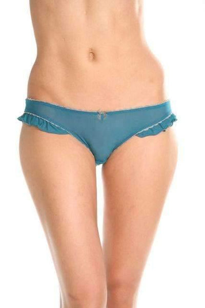 Dew The Burlesque-Panty-Honeydew Intimates-Sage-Small-Honeydew Intimates