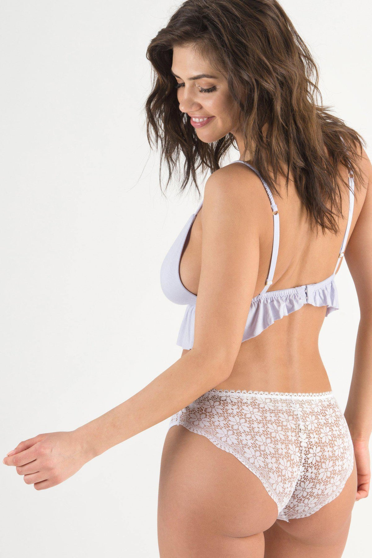 Samantha Lace Hipster-Panty-Honeydew Intimates-White-Small-Honeydew Intimates