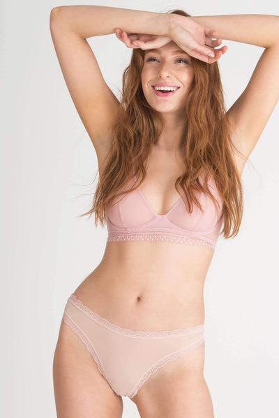 Honeydew Intimates:Aiden Thong,Nude / Small
