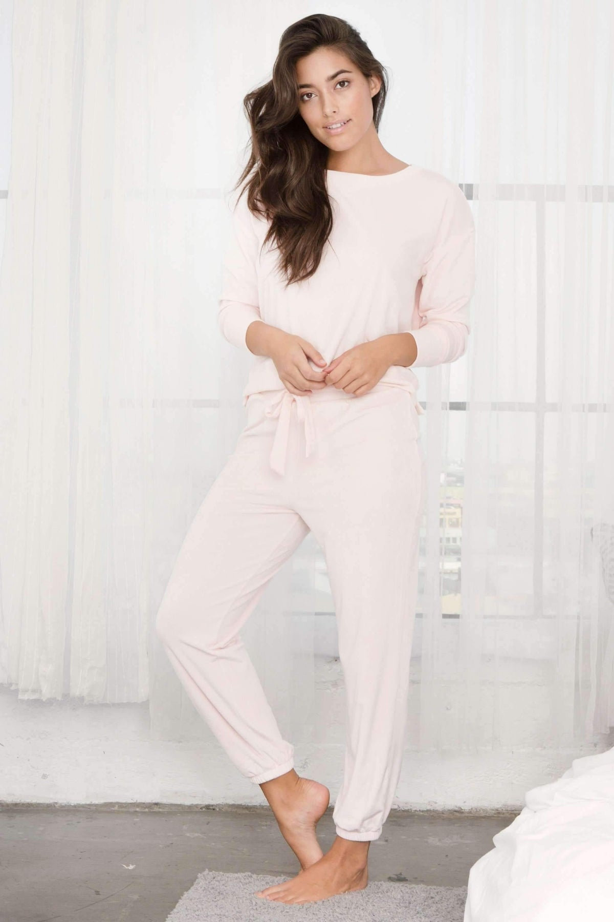 Dream Queen Baby Fleece Jogger-Honeydew Intimates-Honeydew Intimates