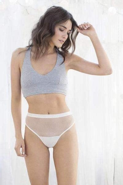 Ivy Net Mesh & Micro High-Cut Brief-Panty-Honeydew Intimates-Macrame-Small-Honeydew Intimates