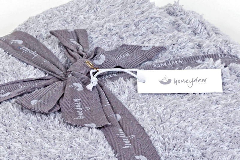 Marshmallow Throw Blanket-Blanket-Honeydew Intimates-Heather Grey-One Size-Honeydew Intimates